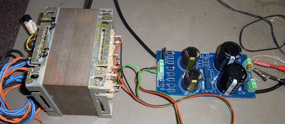 Raddrizzatore Modulare in funzione