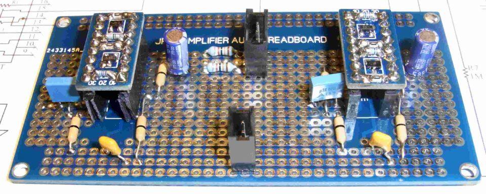 Bredboard JFET