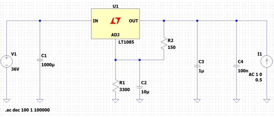 PSU Moduli JFET 28V LT1085
