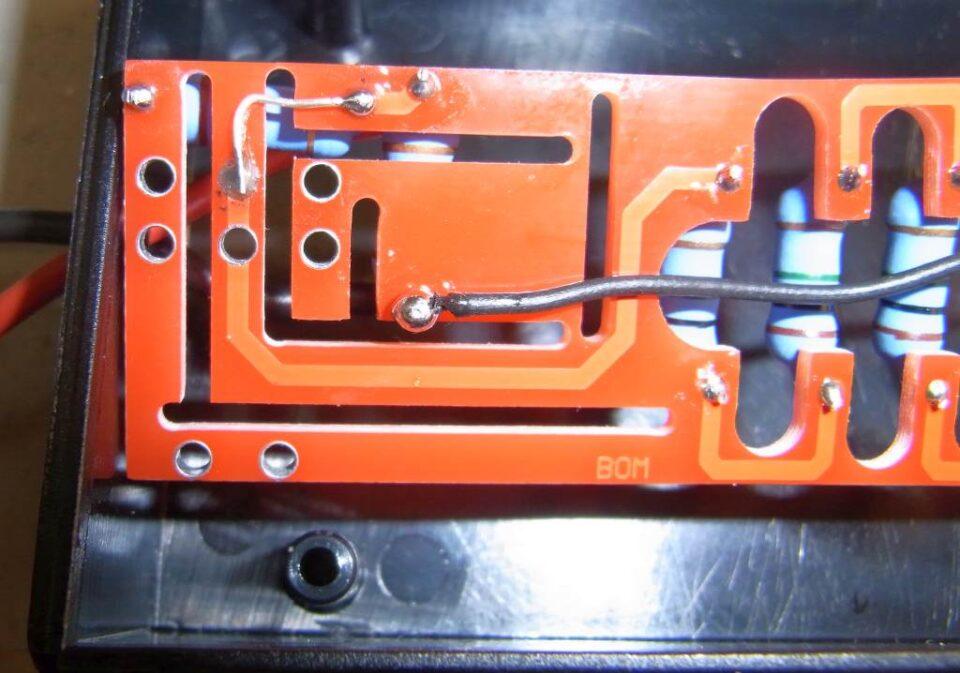 Cablaggi e modifiche PCB per versione x10 fissa